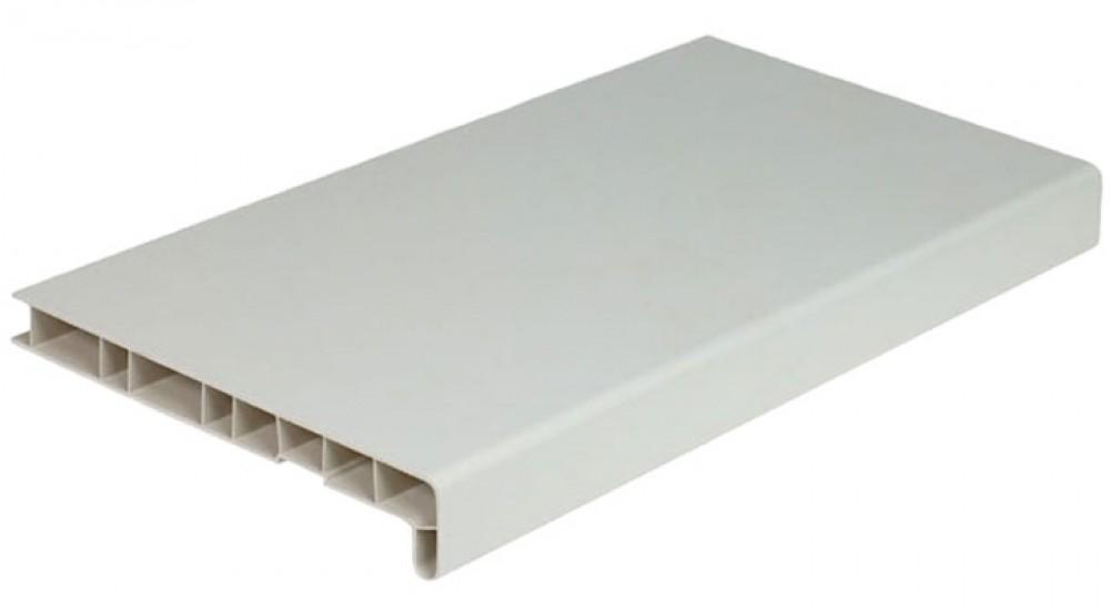 Moeller (белый матовый), 40 см, Подоконник ПВХ фото