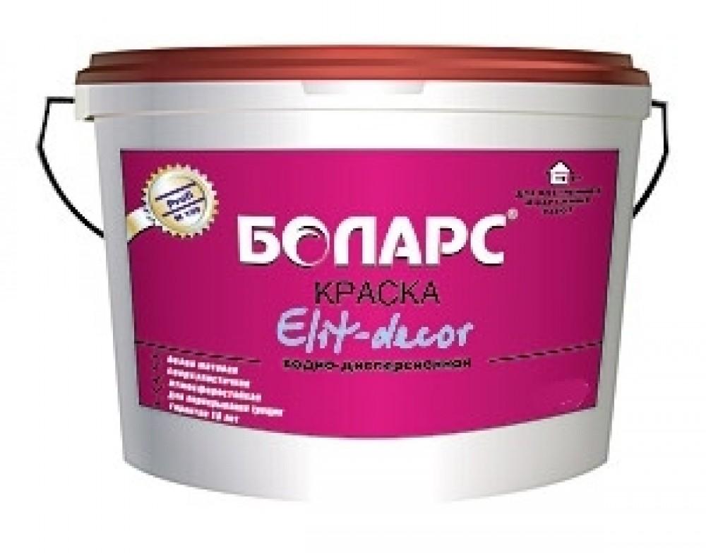 Боларс Elit-Decor 15 кг Краска интерьерная акриловая (белая).