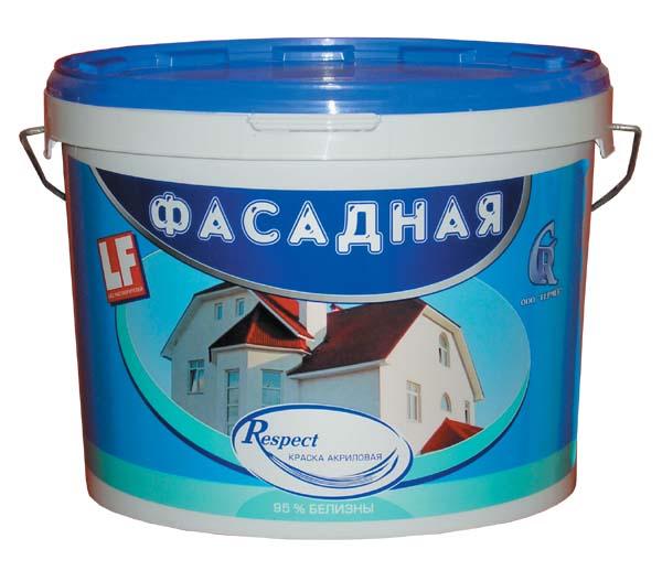 Respect, 40 кг, Краска фасадная акриловая фото