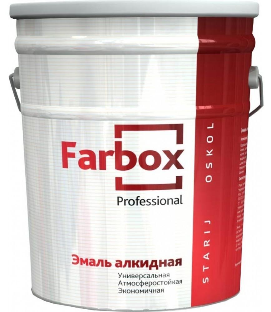 Farbox ПФ-115 20 кг, Эмаль алкидная универсальная (синяя) фото
