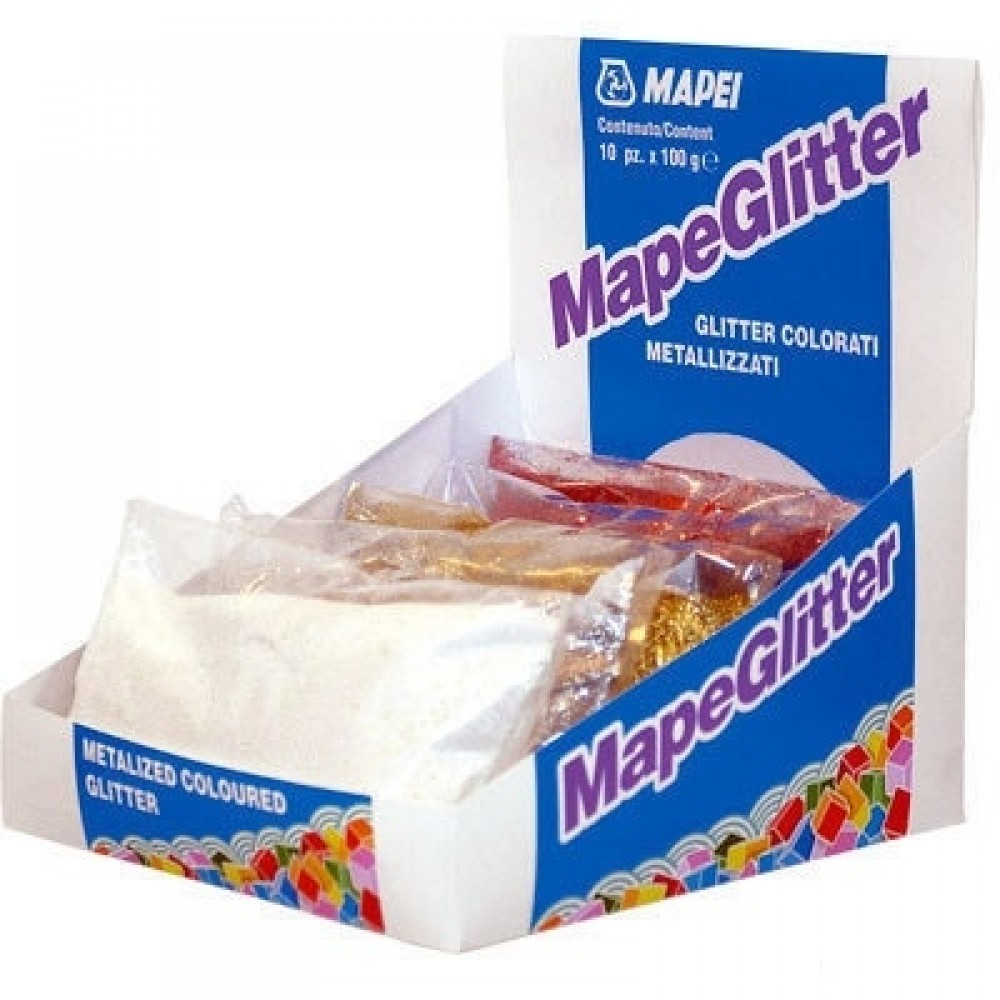Mapei MapeGlitter 202, 100 г, Добавка для затирки фото