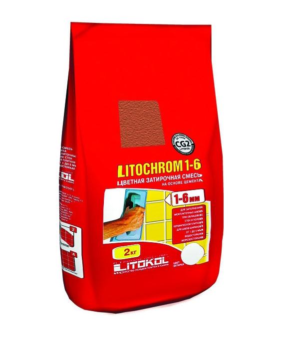 Litokol Litochrom 1-6 C.180, 2 кг, Затирка фото