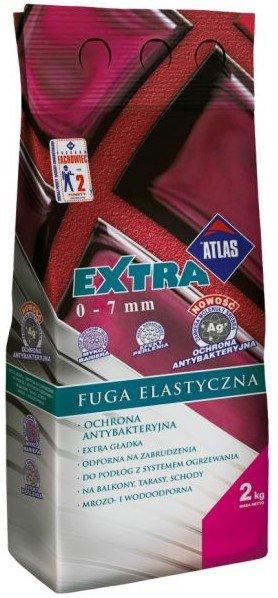 Atlas Extra 02, 2 кг, Затирка для узких швов фото