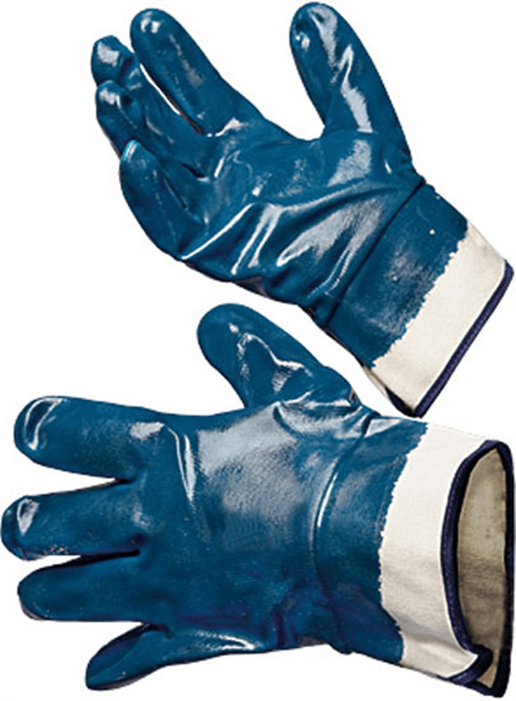 ХБ масло-бензостойкие, Перчатки с двойным обливом, фото