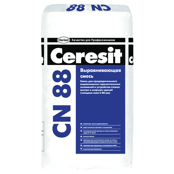 Ceresit CN 88 25 кг, ровнитель