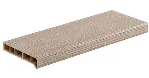 Moeller (горная лиственница матовый), 30 см, Подоконник ПВХ фото