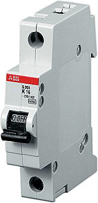 1P ABB S201, 2А, C, Выключатель автоматический фото