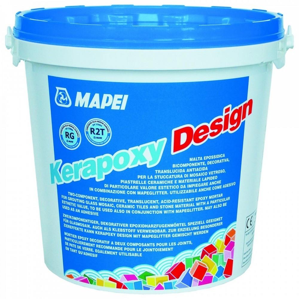 Mapei Kerapoxy Design 720, 3 кг, Затирка эпоксидная фото