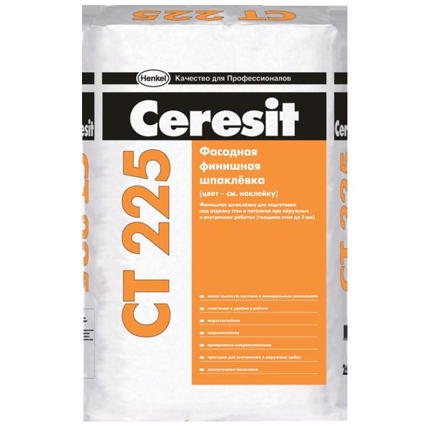 Ceresit CT 225 25 кг, Шпатлевка цементная