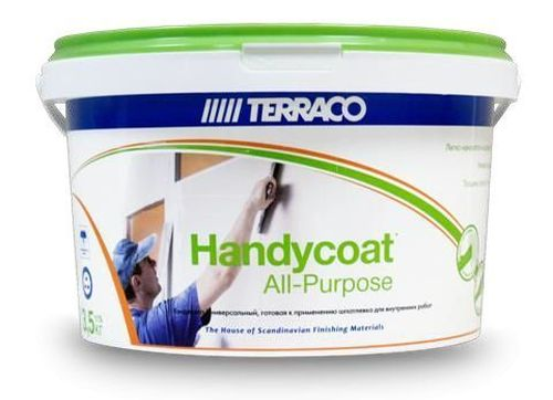 Terraco Handycoat All Purpose, 3.5 кг, Шпатлевка готовая универсальная фото
