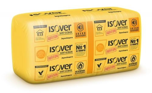 Isover ЗвукоЗащита, 1170х610х50 мм, Звукоизоляция фото