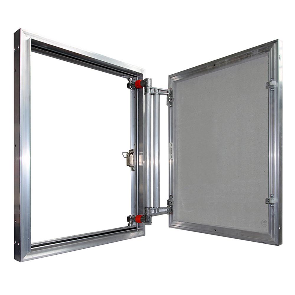 Люк 60х50 см, ревизионный под плитку алюминиевый фото