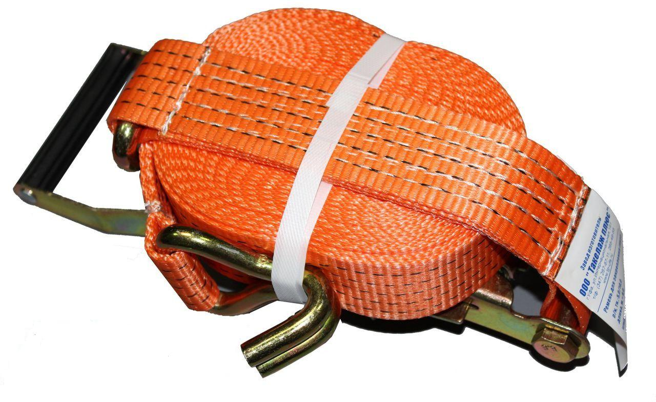 Ремень стяжной для крепления грузов, длина 6 м
