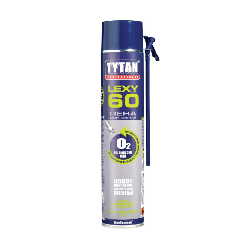 Tytan Lexy 60 750 мл Пена монтажная зимняя.