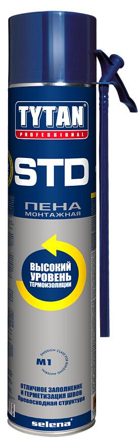 Tytan Euro-line STD 750 мл Пена монтажная.