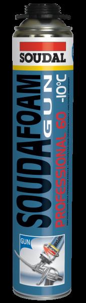 Soudal Soudafoam Professional 60 Winter, 750 мл, Пена монтажная профессиональная зимняя фото