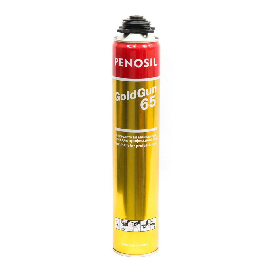 Penosil Gold Gun 65 900 мл Пена монтажная профессиональная.