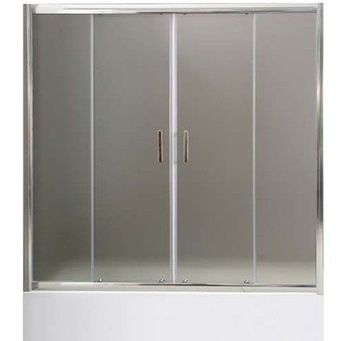 Душевая дверь на ванну BelBagno Uno VF-2-170/145-P-Cr 1700х1450 мм.