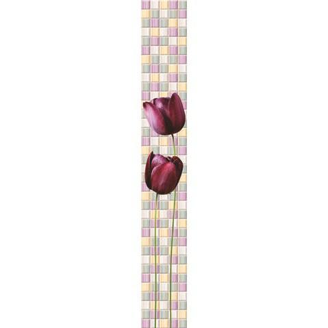 Стеновая панель ПВХ Venta Exclusive Магические тюльпаны №2 VE375E 708H 2700х375 мм.