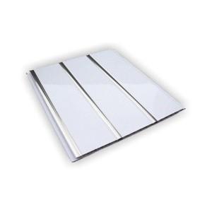 Панель ПВХ трехсекционная Кронапласт хром 3000х240 мм.