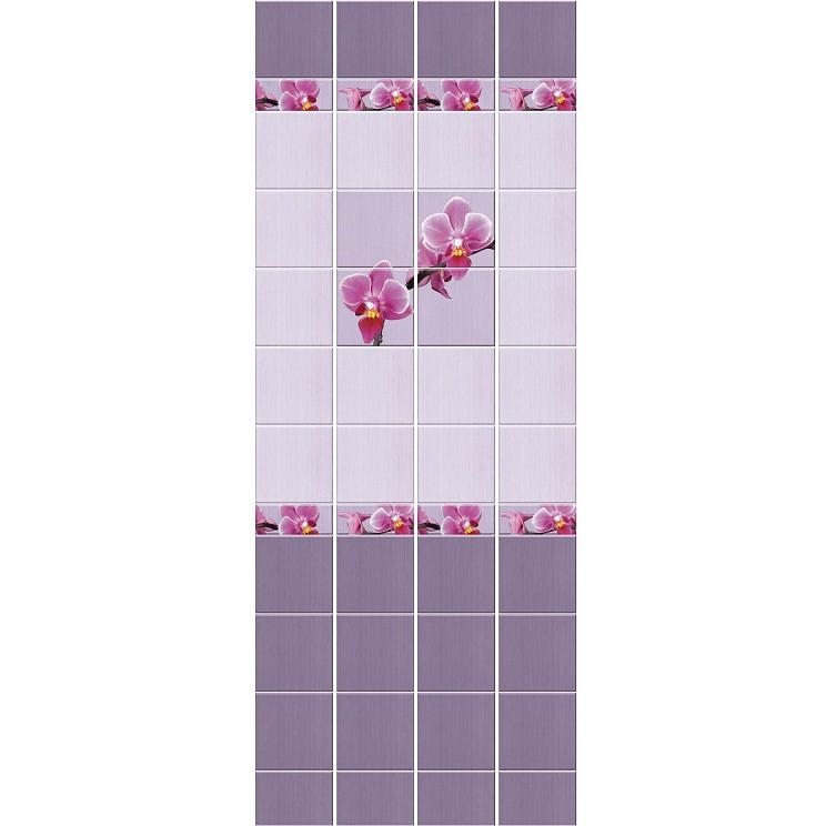 Стеновая панель ПВХ Кронапласт Unique Орхидея 2700х250 мм.