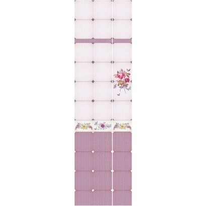 Стеновая панель ПВХ Кронапласт Unique Розовая роза фигурная 2700х250 мм.