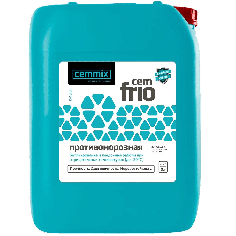 Добавка противоморозная Cemmix CemFrio 5 л.