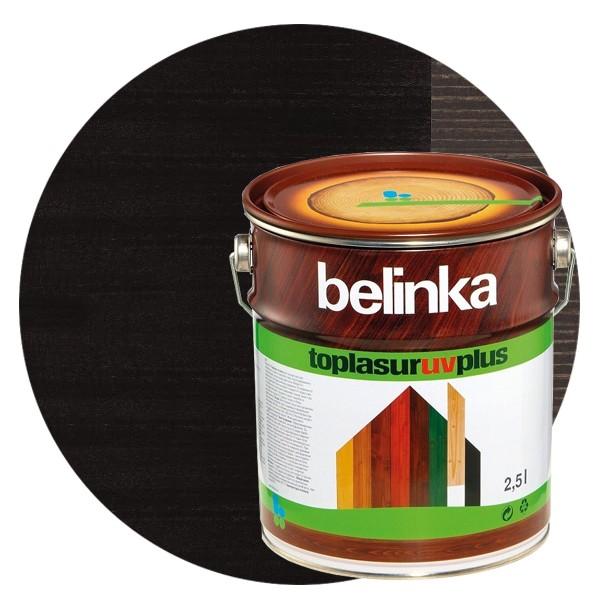 Пропитка для древесины Belinka Toplasur №22 Эбеновое дерево, 2,5 л фото