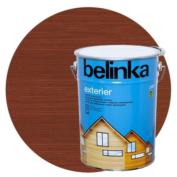 Пропитка для древесины Belinka Exterier № 68 Земельно-коричневый, 10 л фото