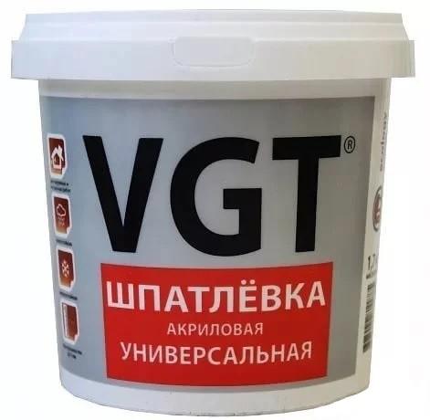 Шпатлевка акриловая универсальная VGT 1,7 кг фото