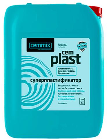 Пластификатор Cemmix CemPlast 5 л.