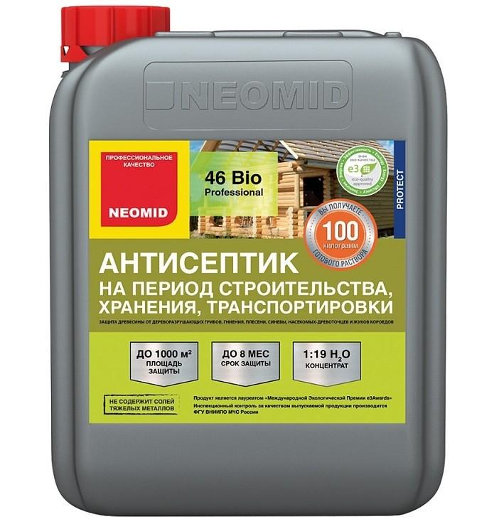 Антисептик на период строительтва Neomid 46 Bio 5 л фото