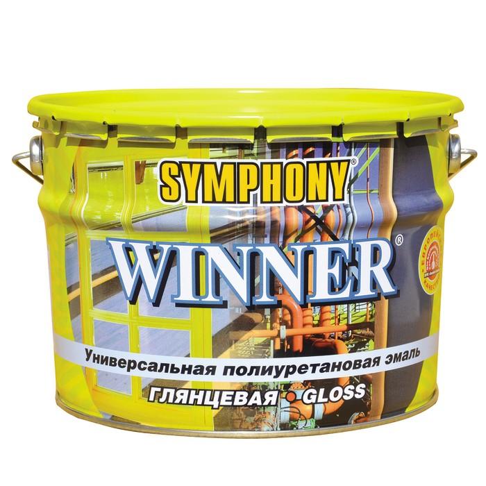 Эмаль полиуретановая Symphony Winner С глянцевая 9 л фото
