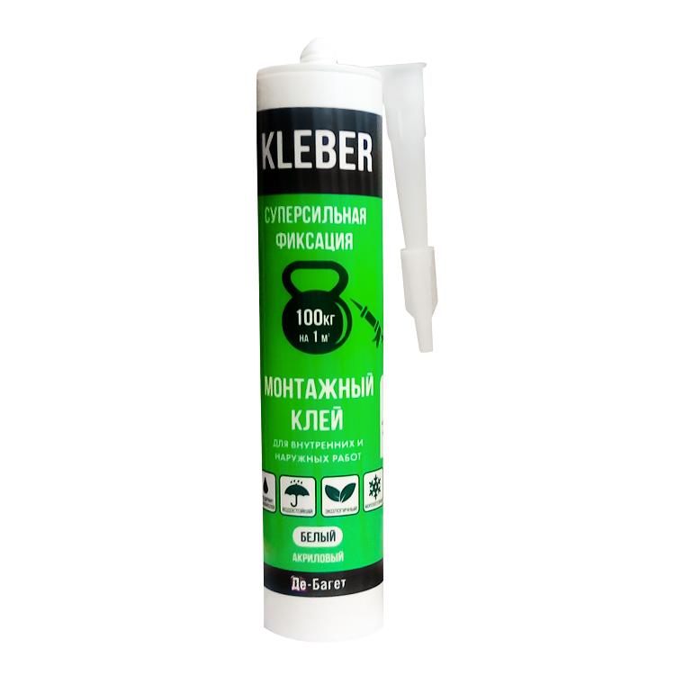 Монтажный клей Де-Багет Kleber FS-100 290 мл.