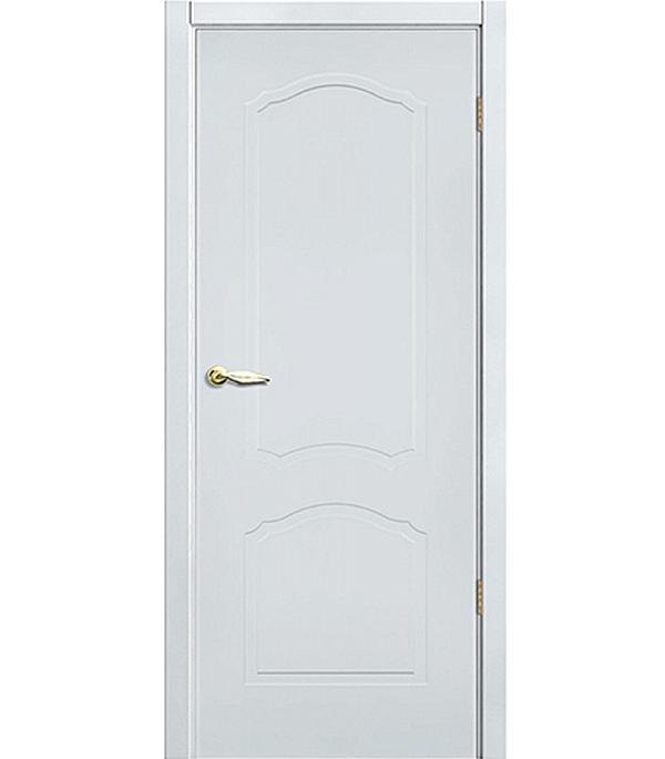 Дверное полотно Принцип Арктика (белая эмаль), 2000х900 мм фото