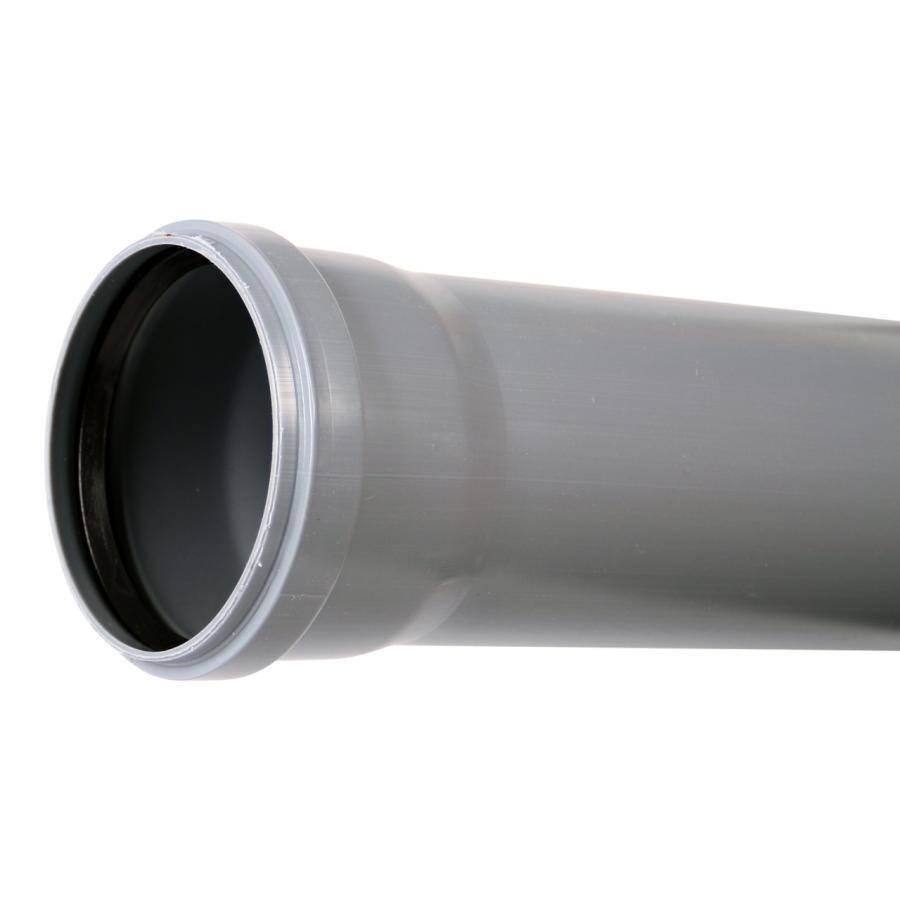 Политэк Эконом 50 мм, 2 м, Труба канализационная внутренняя фото
