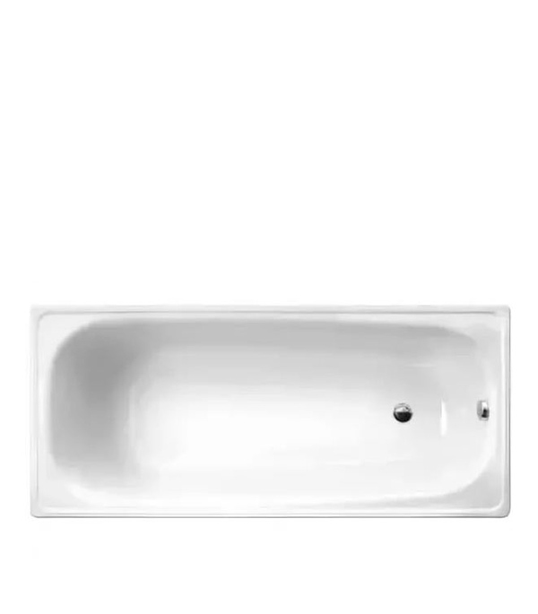 Ванна стальная WHITE WAVE Сlassik 150х75 см с ножками толщина 1.7 мм.