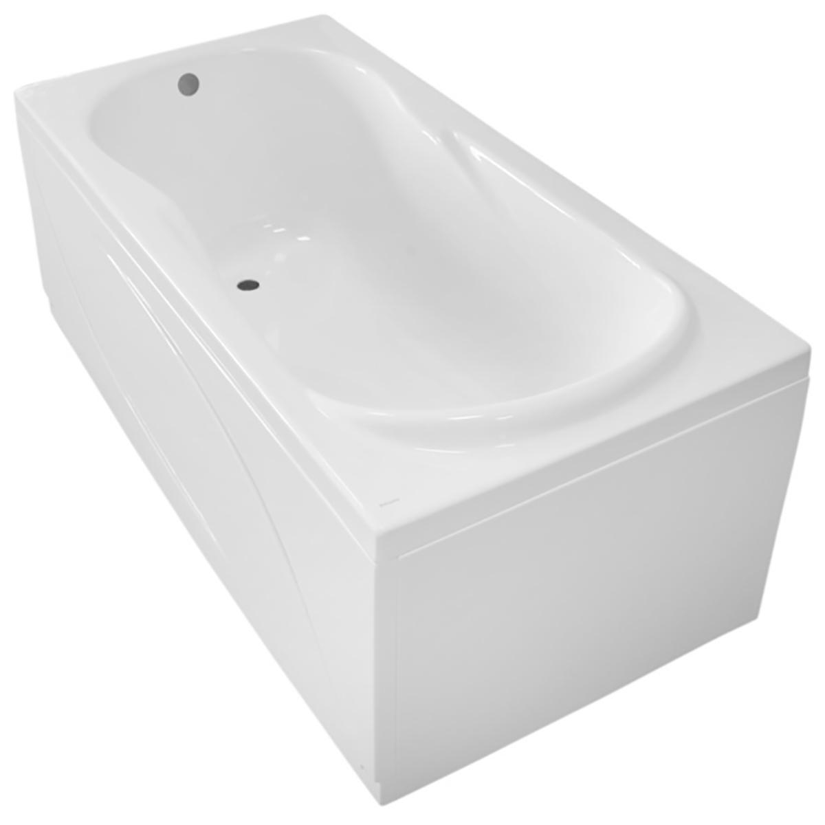 Ванна прямоугольная акриловая Roca Uno ZRU9302870 (белая), 1700x750x500 мм фото