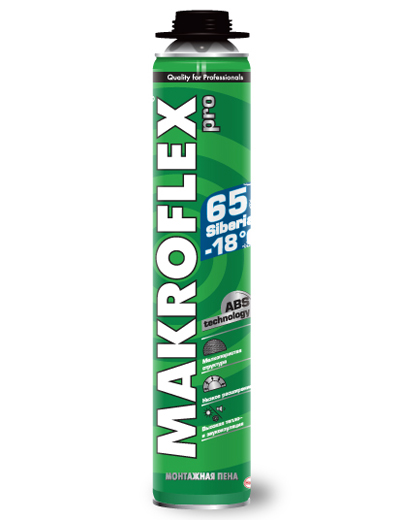 Makroflex Siberian 65 Pro, 750 мл, Пена монтажная профессиональная зимняя фото
