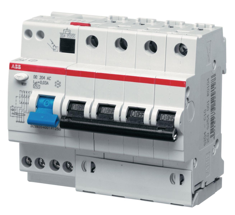 ABB DS204 C63 30мА, номинальный ток 63А, Автомат дифференциальный фото