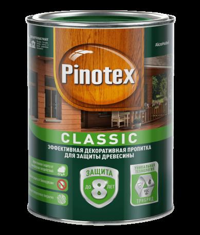 Pinotex Classic, 1 л, Пропитка деревозащитная сосна