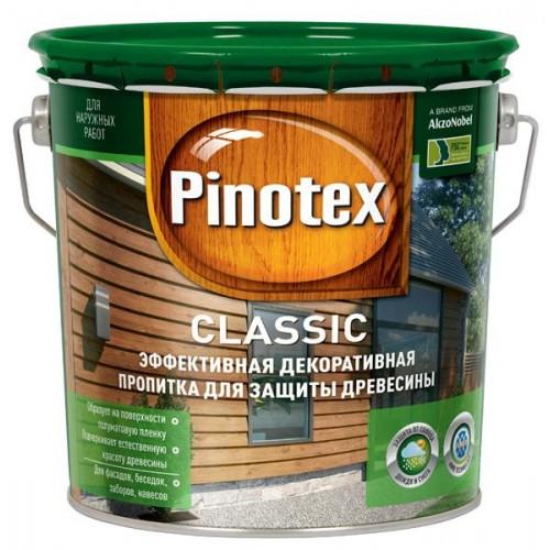 Pinotex Classic, 2.7 л, Пропитка деревозащитная рябина