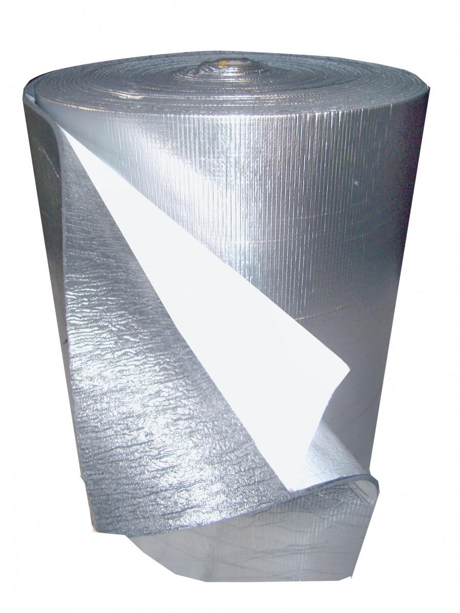 Мосфол 5 мм, 10 м2, Утеплитель фольгированный