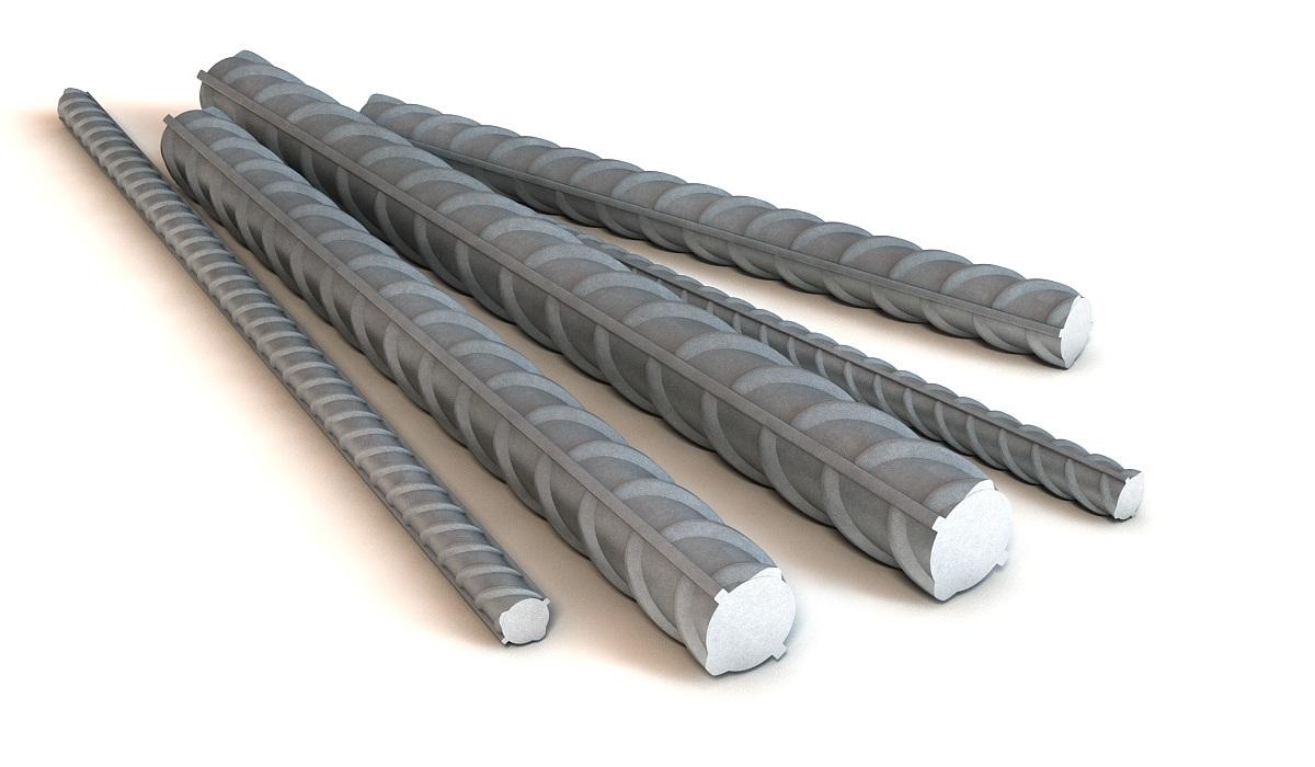 Арматура стальная рифленая А3 D25 мм
