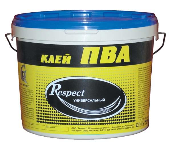 Respect 10 кг, Клей ПВА Универсальный фото