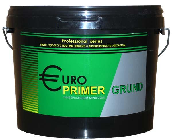 Гермес Europrimer, 10 л, Грунтовка глубокого проникновения акриловая фото