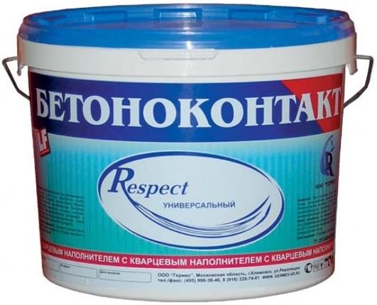 Respect Бетоноконтакт, 20 кг, Грунтовка для бетона фото