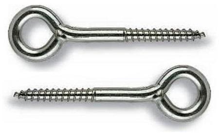 Шуруп-кольцо (крепление для стройлесов), размер 3.5х30 мм