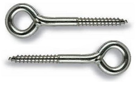 Шуруп-кольцо (крепление для стройлесов), размер 4х50 мм