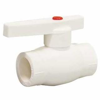 Кран шаровой PP-R СТМ Пласт CPBV0020 20 мм белый